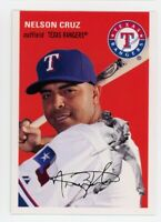 1954 Topps #40 NELSON CRUZ Texas Rangers BASEBALL RARE CARD- 2012 ARCHIVES