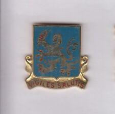 US ARMY SECURITY AGENCY SCHOOL ASA MI crest DUI badge c/b G-23