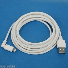 5M Quick Fast Charger ONLY Right Angle USB Cable WHITE 4 iPad Pro Air 2 mini 3