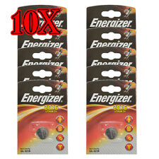 Pack Of 10X Energizer CR2016 Coin Lithium Battery Single 2016 Lithium 3V DL2016