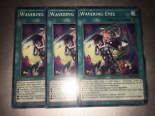 Wavering Eyes COMMON CORE-EN066 MIXED EDITIONS X3 PLAYSET