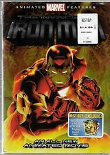 MARVEL Animated Movie, 2007, The Invincible Iron Man, USED DVD