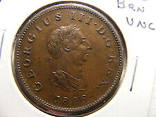 Great Britain 1806 1/2 Penny, KM#662, Brown Uncirculated