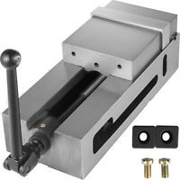 """6.3"""" CNC Vise Precision Vise Ductile Iron Clamping Vice Milling Drilling Machine"""
