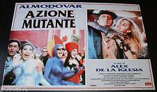 fotobusta originale AZIONE MUTANTE Alex De La Iglesia Pedro Almodovar 1995 #1