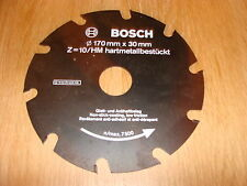 BOSCH 170MM CIRCULAR SAW BLADE 170 x 30 x 10T 1 609 201 121