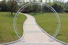 1X Heavy Duty Large Circular Wedding Garden Arch 240x230cm