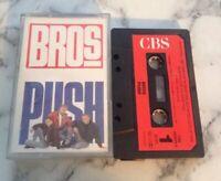 Music Cassette Tape - Bros - Push