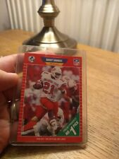 Barry Sanders Detroit Lions NFL Pro Set 1989