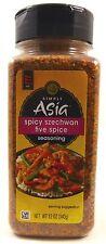 Simply Asia Spicy Szechwan Five Spice Seasoning 12 oz (340g) Hot!