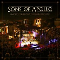 SONS OF APOLLO - LIVE WITH THE PLOVDIV PSYCHOTIC SYMPHONY  5 CD NEU