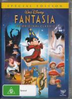 FANTASIA - DISNEY - NEW & SEALED REGION 4 DVD FREE LOCAL POST