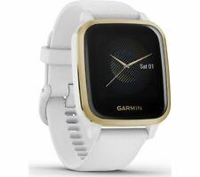 GARMIN Venu Sq Smartwatch Silicone Strap GPS Light Gold & White - Currys