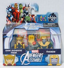 Marvel Minimates Walgreens Wave 2 Avengers DARK AVENGERS THOR & THANOS New👍