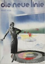 "LASZLO MOHOLY-NAGY ""Die neue Linie, Mai 1931"" Reproduction Bauhaus Poster"