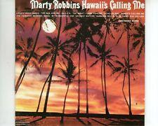 CD MARTY ROBBINSHawaii's calling meEX-GERMAN 1989 (A3220)