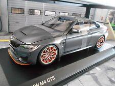 BMW 4er M4 GTS Coupe frozen grey met 2016 Minichamps Diecast 1:18