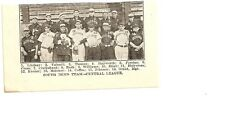 South Bend Greens 1907 Team Picture Donie Bush Frank Cross Hosea Siner