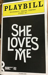 She Loves Me Playbill  Laura Benanti Zachary Levi Jane Krakowski