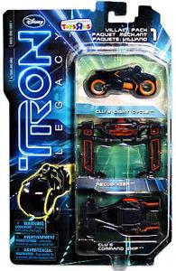 Tron legacy 1/50 Die Cast Villain Pack / Clu reconizer diecast Spin Master