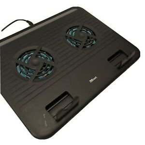 TRUST Breeze Notebook/Laptop Cooling Stand Fan, Black Turquoise