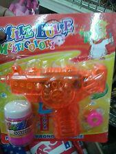 Set 3 pistole spara bolle di sapone Kit gioco di qualità giocattolo toy
