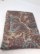 Ralph Lauren Pillow Case Tan Blue Rust Floral Leaf 1 Case Only Not Pair L6