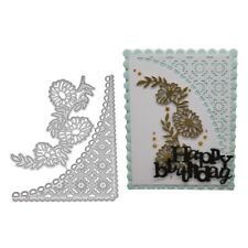 Lace Metal Cutting Dies Stencil DIY Embossing Scrapbooking Paper Card Making