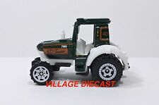 "2010 Matchbox ""Farm Rigs"" Tractor GREEN/WHITE/MINT"