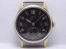 WWII WW2 1944 Military Wristwatch German Army Zenith DH