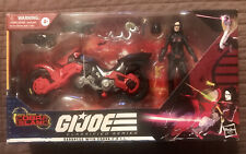 GI Joe Classified Series BARONESS w/ COIL BIKE - Target Exclusive Cobra Island