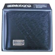 New with Box Billabong Men's Surf Synthetic Leather Black Wallet Xmas Gift #13