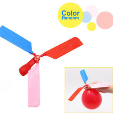 Lot Cheap Funny Balloon Helicopter Flying Toy For Boy Girl Kid Gift Party Decor