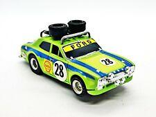 Aurora AFX Rally Escort NOS Body w/Running Chassis