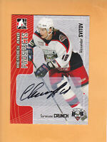 2005 06 ITG HEROES & PROSPECTS AUTO # A-AS ALEXANDER SVITOV CRUNCH / LIGHTNING