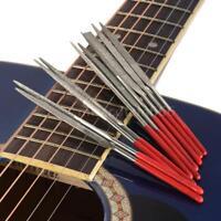 Guitar Fret Nut Saddle Slot File Set Luthier Repair Tool 10pcs in 1 Set USA Ship