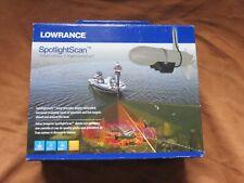 Lowrance Spotlight Scan Transducer Surround-Scan Sonar  New Open Box FREE SHIP