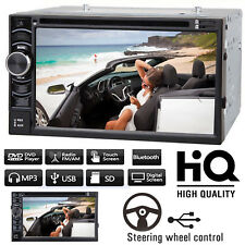 For Honda CR-V Civic Accord 6.2'' 2Din Car Stereo Radio Head Unit DVD CD Player