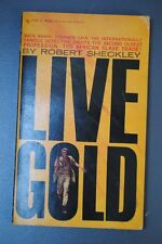 Robert Sheckley - Stephen DAIN - Live Gold  Bantam Mystery