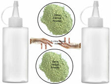 100g Henna + Indigo Powder + 2  Applicator bottles + 2 Gloves Hair Dye Kit Set