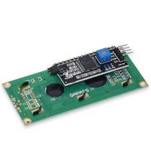 LCD 1602 Pantalla Azul + Adaptador IIC/I2C Compatible Raspberry Display PCF8574T