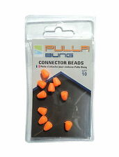 PRESTON INNOVATIONS SPARE PULLA BUNG CONNECTOR BEADS CARP FISHING TACKLE 10PCS