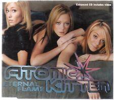 ATOMIC KITTEN - ETERNAL FLAME (3 tracks + video, CD single)