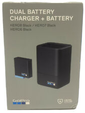GoPro Dual Battery Charger with Battery for HERO8 & HERO7 & HERO6 AJDBD-001 New