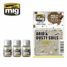 AMMO MIG 7440 ZESTAW FARB ARID & DUST MUD & EARTH