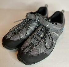 Bontrager SSR Inform Women's Size 5.5 Cycling Bike Shoes Gray Teal MTB WSD