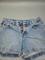 Vintage Lucky Brand Dungarees Women's Denim Jean Shorts, Size 6 / 28 1990s Cute