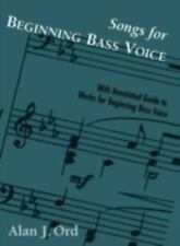 Songs for Beginning Bass Voice, Ord, Alan J., Good Book