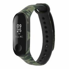 ⭐⭐ ⭐CINTURINO MORBIDO MIMETICO PER XIAOMI MI BAND 4 SMART WATCH GREEN / BLACK