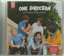 B -1 MAXI/Single CD One Direction/Live While We 're Young/SCHEDA + POSTER